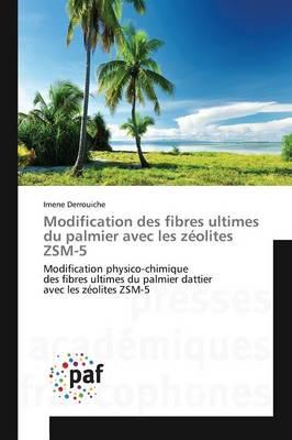 Modification Des Fibres Ultimes Du Palmier Avec Les Z�olites Zsm-5 - Omn.Pres.Franc. (Paperback)