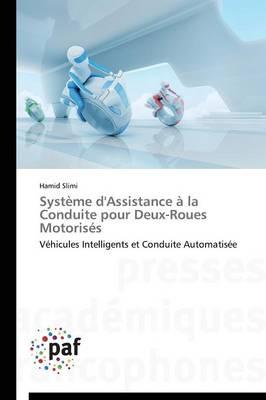 Syst�me d'Assistance � La Conduite Pour Deux-Roues Motoris�s - Omn.Pres.Franc. (Paperback)