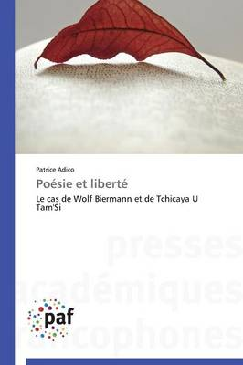Po�sie Et Libert� - Omn.Pres.Franc. (Paperback)