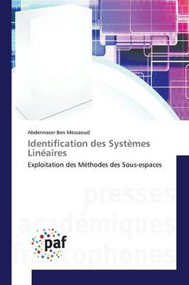 Identification Des Systemes Lineaires - Omn.Pres.Franc. (Paperback)