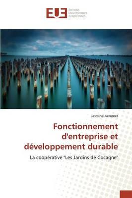 Fonctionnement d'Entreprise Et D veloppement Durable - Omn.Univ.Europ. (Paperback)