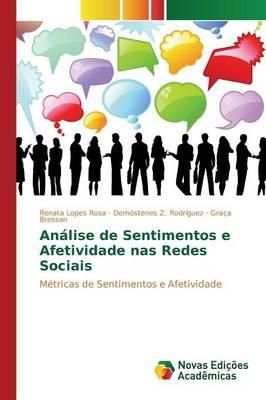Analise de Sentimentos E Afetividade NAS Redes Sociais (Paperback)
