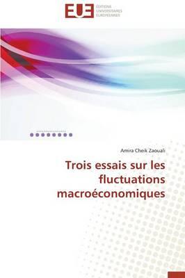 Trois Essais Sur Les Fluctuations Macro�conomiques - Omn.Univ.Europ. (Paperback)