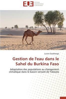Gestion de l'Eau Dans Le Sahel Du Burkina Faso - Omn.Univ.Europ. (Paperback)
