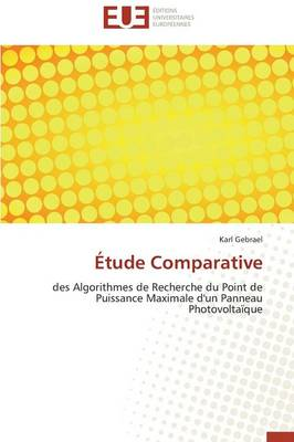 �tude Comparative - Omn.Univ.Europ. (Paperback)