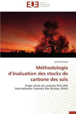 M�thodologie D �valuation Des Stocks de Carbone Des Sols - Omn.Univ.Europ. (Paperback)