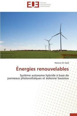 �nergies Renouvelables - Omn.Univ.Europ. (Paperback)