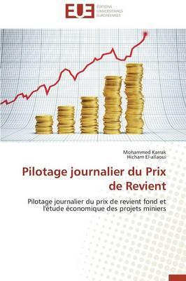 Pilotage Journalier Du Prix de Revient - Omn.Univ.Europ. (Paperback)
