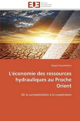 L' conomie Des Ressources Hydrauliques Au Proche Orient - Omn.Univ.Europ. (Paperback)