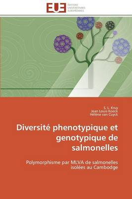 Diversit Phenotypique Et Genotypique de Salmonelles - Omn.Univ.Europ. (Paperback)
