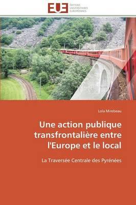 Une Action Publique Transfrontali�re Entre l'Europe Et Le Local - Omn.Univ.Europ. (Paperback)
