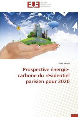 Prospective nergie-Carbone Du R sidentiel Parisien Pour 2020 - Omn.Univ.Europ. (Paperback)