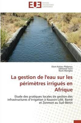 La Gestion de l'Eau Sur Les P�rim�tres Irrigu�s En Afrique - Omn.Univ.Europ. (Paperback)