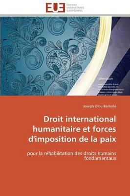 Droit International Humanitaire Et Forces d'Imposition de la Paix - Omn.Univ.Europ. (Paperback)