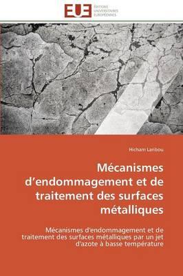 M canismes D Endommagement Et de Traitement Des Surfaces M talliques - Omn.Univ.Europ. (Paperback)