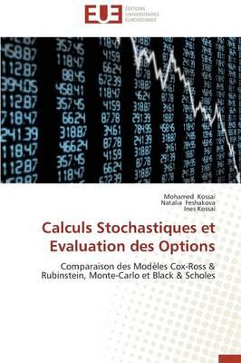 Calculs Stochastiques Et Evaluation Des Options - Omn.Univ.Europ. (Paperback)