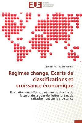 R�gimes Change, Ecarts de Classifications Et Croissance �conomique - Omn.Univ.Europ. (Paperback)
