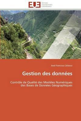 Gestion Des Donn es - Omn.Univ.Europ. (Paperback)