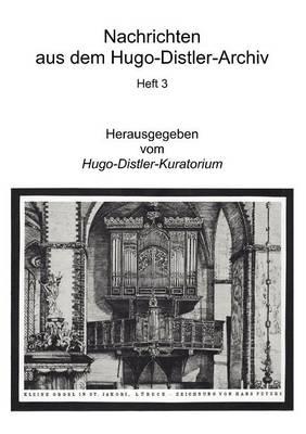 Nachrichten Aus Dem Hugo-Distler-Archiv (Paperback)