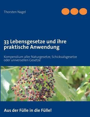 33 Lebensgesetze und ihre praktische Anwendung: Kompendium aller Naturgesetze, Schicksalsgesetze oder universellen Gesetze (Paperback)