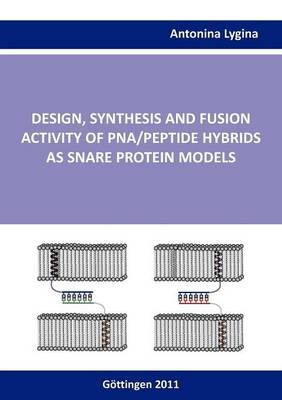 Design, Synthesis and Fusion Activity of Pna/Peptide Hybrids as Snare Protein Models (Paperback)