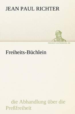 Freiheits-Buchlein (Paperback)