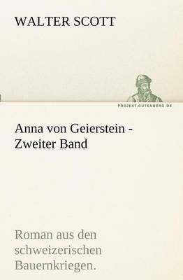Anna Von Geierstein - Zweiter Band (Paperback)