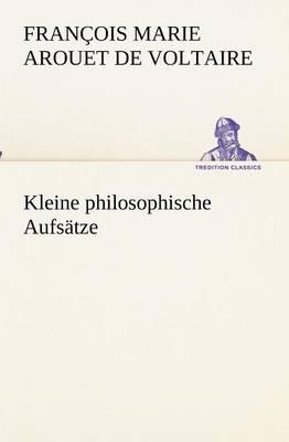 Kleine Philosophische Aufsatze (Paperback)