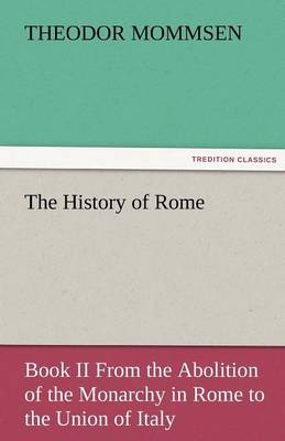 The History of Rome (Paperback)