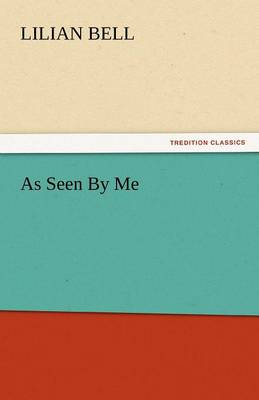As Seen by Me (Paperback)