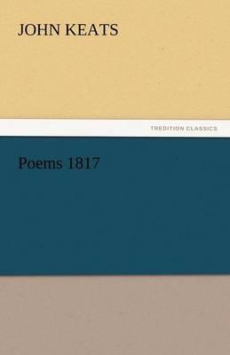 Poems 1817 (Paperback)