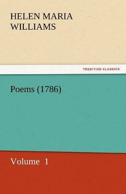 Poems (1786) (Paperback)