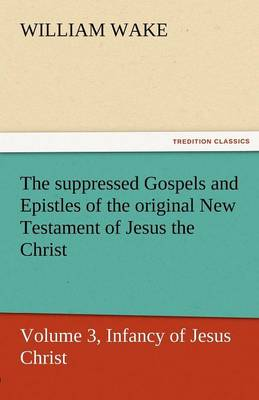 The Suppressed Gospels and Epistles of the Original New Testament of Jesus the Christ, Volume 3, Infancy of Jesus Christ (Paperback)