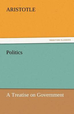 Politics: A Treatise on Government (Paperback)