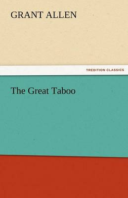 The Great Taboo (Paperback)