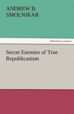 Secret Enemies of True Republicanism (Paperback)