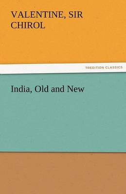 India, Old and New (Paperback)