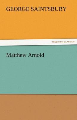 Matthew Arnold (Paperback)