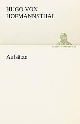 Aufsatze (Paperback)