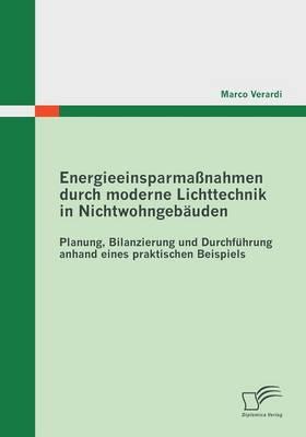 Energieeinsparmassnahmen Durch Moderne Lichttechnik in Nichtwohngebauden (Paperback)
