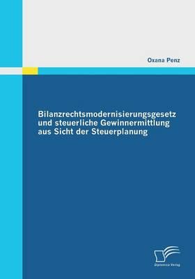 Bilanzrechtsmodernisierungsgesetz Und Steuerliche Gewinnermittlung Aus Sicht Der Steuerplanung (Paperback)