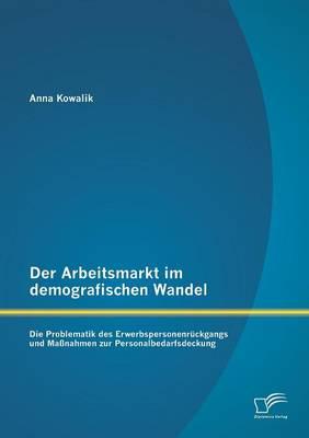 Der Arbeitsmarkt Im Demografischen Wandel: Die Problematik Des Erwerbspersonenruckgangs Und Massnahmen Zur Personalbedarfsdeckung (Paperback)