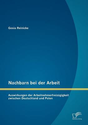 Nachbarn Bei Der Arbeit: Auswirkungen Der Arbeitnehmerfreiz Gigkeit Zwischen Deutschland Und Polen (Paperback)