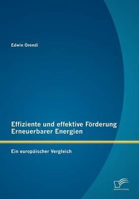 Effiziente Und Effektive F Rderung Erneuerbarer Energien: Ein Europ Ischer Vergleich (Paperback)