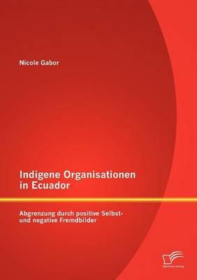 Indigene Organisationen in Ecuador: Abgrenzung Durch Positive Selbst- Und Negative Fremdbilder (Paperback)