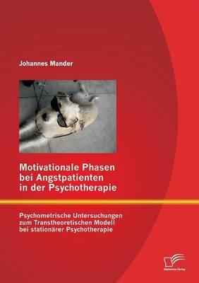 Motivationale Phasen Bei Angstpatienten in Der Psychotherapie: Psychometrische Untersuchungen Zum Transtheoretischen Modell Bei Stationarer Psychother (Paperback)