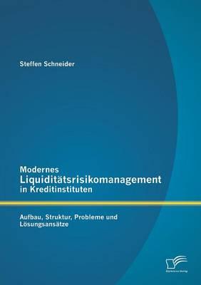 Modernes Liquiditatsrisikomanagement in Kreditinstituten: Aufbau, Struktur, Probleme Und Losungsansatze (Paperback)