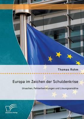 Europa Im Zeichen Der Schuldenkrise: Ursachen, Fehlentwicklungen Und Losungsansatze (Paperback)