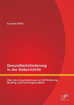 Gesundheitsforderung in Der Geburtshilfe: Uber Den Zusammenhang Von Stillforderung, Bonding Und Familiengesundheit (Paperback)