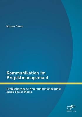Kommunikation Im Projektmanagement: Projektbezogene Kommunikationskanale Durch Social Media (Paperback)